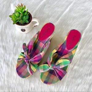 MIA Multi-Color Wedges - Size 7 1/2